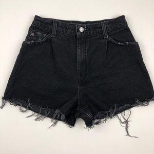 Vintage LEVI'S Jean Shorts Orange Tab Custom Jeans